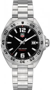 Buy this new Tag Heuer Formula 1 Quartz 41mm waz1112.ba0875 mens watch for the discount price of £892.00. UK Retailer.