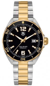 Buy this new Tag Heuer Formula 1 Quartz 41mm waz1121.bb0879 mens watch for the discount price of £1,402.00. UK Retailer.