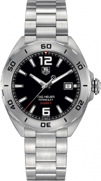 Tag Heuer Formula 1 Automatic 41mm Mens watch, model number - waz2113.ba0875, discount price of £1,160.00 from The Watch Source