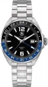 Buy this new Tag Heuer Formula 1 GMT waz211a.ba0875 mens watch for the discount price of £1,402.00. UK Retailer.