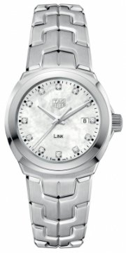 Buy this new Tag Heuer Link Quartz 32mm wbc1312.ba0600 ladies watch for the discount price of £1,610.00. UK Retailer.
