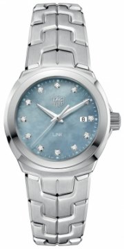Buy this new Tag Heuer Link Quartz 32mm wbc1313.ba0600 ladies watch for the discount price of £1,610.00. UK Retailer.