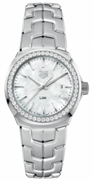 Buy this new Tag Heuer Link Quartz 32mm wbc1314.ba0600 ladies watch for the discount price of £2,550.00. UK Retailer.