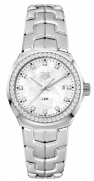 Buy this new Tag Heuer Link Quartz 32mm wbc1316.ba0600 ladies watch for the discount price of £3,060.00. UK Retailer.