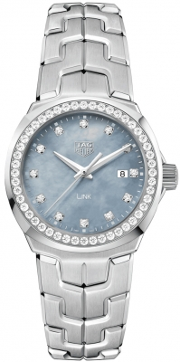 Buy this new Tag Heuer Link Quartz 32mm wbc1319.ba0600 ladies watch for the discount price of £3,060.00. UK Retailer.