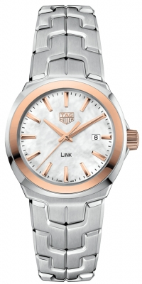 Buy this new Tag Heuer Link Quartz 32mm wbc1350.ba0600 ladies watch for the discount price of £1,657.00. UK Retailer.