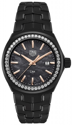 Buy this new Tag Heuer Link Quartz 32mm wbc1391.bh0745 ladies watch for the discount price of £3,775.00. UK Retailer.