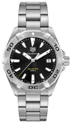 Buy this new Tag Heuer Aquaracer Quartz 41mm wbd1110.ba0928 mens watch for the discount price of £1,100.00. UK Retailer.
