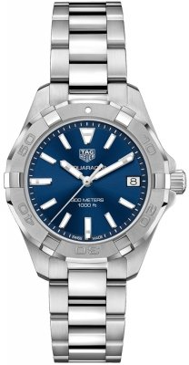 Buy this new Tag Heuer Aquaracer Quartz Ladies 32mm wbd1312.ba0740 ladies watch for the discount price of £1,020.00. UK Retailer.