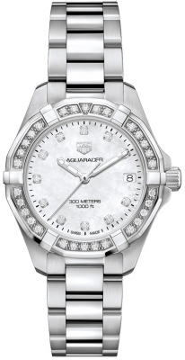 Tag Heuer Aquaracer Quartz Ladies 32mm wbd1315.ba0740 watch