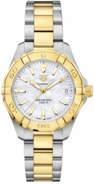 Buy this new Tag Heuer Aquaracer Quartz Ladies 32mm wbd1320.bb0320 ladies watch for the discount price of £1,615.00. UK Retailer.