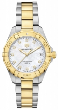 Buy this new Tag Heuer Aquaracer Quartz Ladies 32mm wbd1322.bb0320 ladies watch for the discount price of £1,997.00. UK Retailer.