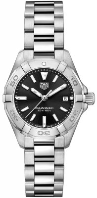 Buy this new Tag Heuer Aquaracer Quartz Ladies 27mm wbd1410.ba0741 ladies watch for the discount price of £935.00. UK Retailer.