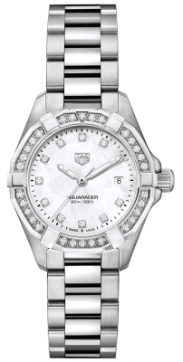 Tag Heuer Aquaracer Quartz Ladies 27mm wbd1415.ba0741 watch
