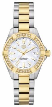 Buy this new Tag Heuer Aquaracer Quartz Ladies 27mm wbd1421.bb0321 ladies watch for the discount price of £2,465.00. UK Retailer.