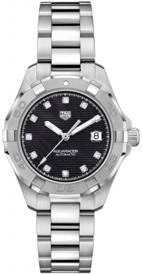 Buy this new Tag Heuer Aquaracer Automatic Ladies 32mm wbd2312.ba0740 ladies watch for the discount price of £1,780.00. UK Retailer.