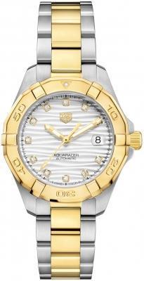 Tag Heuer Aquaracer Automatic Ladies 32mm wbd2321.bb0320 watch