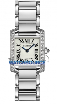 Cartier Tank Francaise Small Ladies watch, model number - we1002s3, discount price of £19,550.00 from The Watch Source