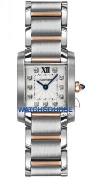 Cartier Tank Francaise Small Ladies watch, model number - we110004, discount price of £5,310.00 from The Watch Source