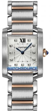 Cartier Tank Francaise Medium Midsize watch, model number - we110005, discount price of £5,670.00 from The Watch Source