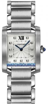 Cartier Tank Francaise Medium Midsize watch, model number - we110007, discount price of £4,136.00 from The Watch Source