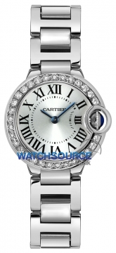 Buy this new Cartier Ballon Bleu 28mm we9003z3 ladies watch for the discount price of £26,190.00. UK Retailer.