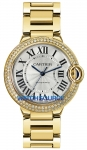 Cartier Ballon Bleu 36mm we9004z3 watch