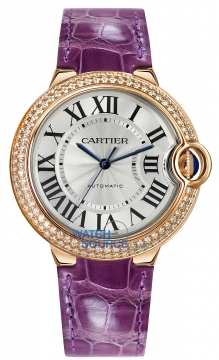 Cartier Ballon Bleu 36mm Ladies watch, model number - we900551, discount price of £22,352.00 from The Watch Source