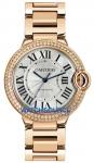 Cartier Ballon Bleu 36mm we9005z3 watch