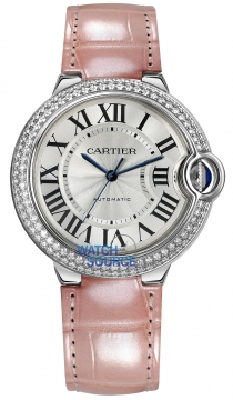 Cartier Ballon Bleu 36mm Ladies watch, model number - we900651, discount price of £23,120.00 from The Watch Source
