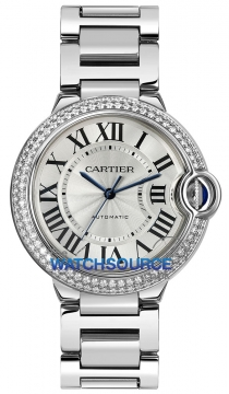 Buy this new Cartier Ballon Bleu 36mm we9006z3 ladies watch for the discount price of £37,710.00. UK Retailer.