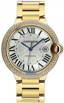 Cartier Ballon Bleu 42mm Mens watch, model number - we9007z3, discount price of £41,888.00 from The Watch Source