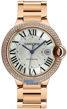 Cartier Ballon Bleu 42mm Mens watch, model number - we9008z3, discount price of £41,536.00 from The Watch Source