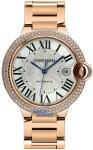 Cartier Ballon Bleu 42mm we9008z3 watch