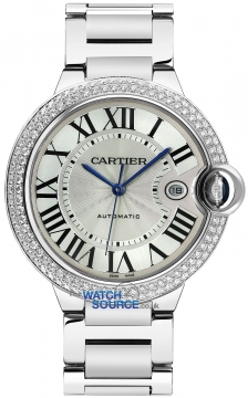 Cartier Ballon Bleu 42mm Mens watch, model number - we9009z3, discount price of £44,880.00 from The Watch Source