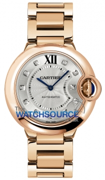 Cartier Ballon Bleu 36mm Ladies watch, model number - we902026, discount price of £20,995.00 from The Watch Source