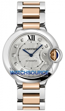 Cartier Ballon Bleu 36mm Ladies watch, model number - we902031, discount price of £7,348.00 from The Watch Source