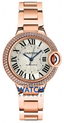 Buy this new Cartier Ballon Bleu 33mm we902034 ladies watch for the discount price of £28,440.00. UK Retailer.