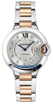 Cartier Ballon Bleu 33mm Ladies watch, model number - we902044, discount price of £7,084.00 from The Watch Source