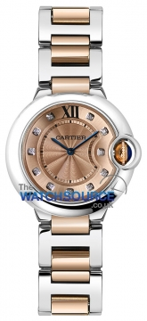Cartier Ballon Bleu 28mm we902052 watch