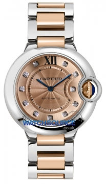 Cartier Ballon Bleu 36mm Ladies watch, model number - we902054, discount price of £9,225.00 from The Watch Source