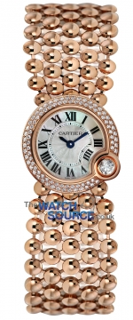 Buy this new Cartier Balon Blanc 24mm we902057 ladies watch for the discount price of £29,610.00. UK Retailer.