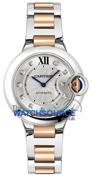 Buy this new Cartier Ballon Bleu 33mm we902061 ladies watch for the discount price of £7,740.00. UK Retailer.