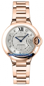 Cartier Ballon Bleu 33mm Ladies watch, model number - we902062, discount price of £17,776.00 from The Watch Source