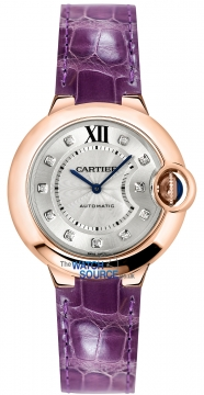 Cartier Ballon Bleu 33mm Ladies watch, model number - we902063, discount price of £9,350.00 from The Watch Source