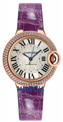 Buy this new Cartier Ballon Bleu 33mm we902066 ladies watch for the discount price of £20,790.00. UK Retailer.