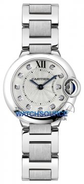Buy this new Cartier Ballon Bleu 28mm we902073 ladies watch for the discount price of £4,725.00. UK Retailer.
