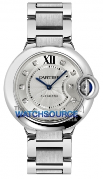 Cartier Ballon Bleu 36mm Ladies watch, model number - we902075, discount price of £5,500.00 from The Watch Source