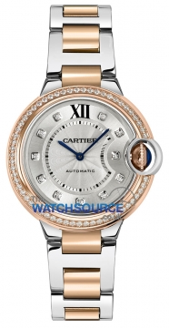 Cartier Ballon Bleu 33mm Ladies watch, model number - we902077, discount price of £12,325.00 from The Watch Source