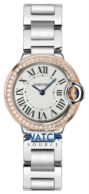 Buy this new Cartier Ballon Bleu 28mm we902079 ladies watch for the discount price of £10,350.00. UK Retailer.